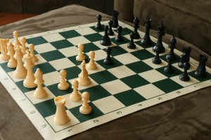 Quality Plastic Chessboard Set