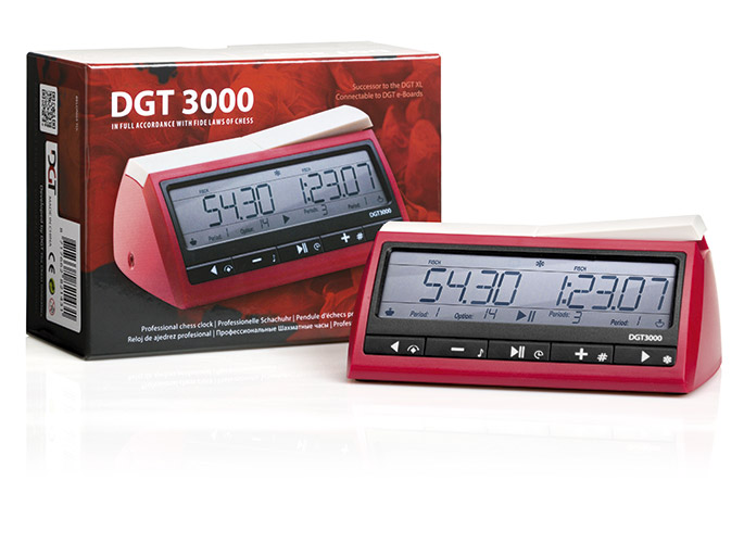 DGT3000 chess clock with Giftbox