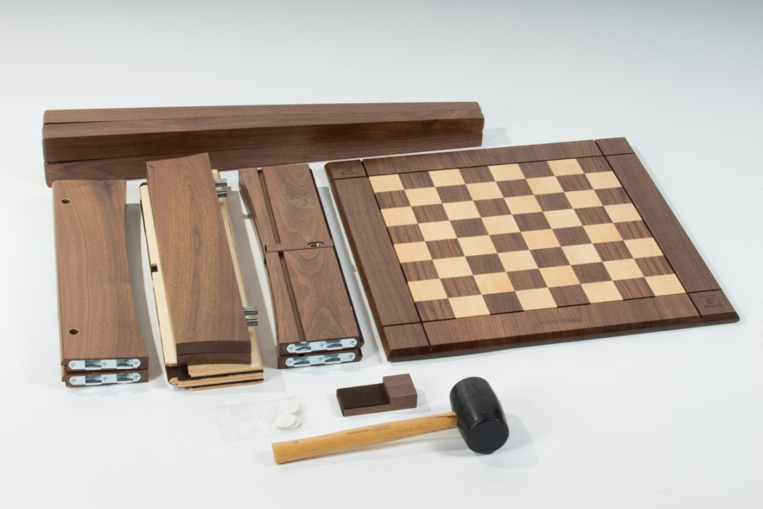 The chess table kit.