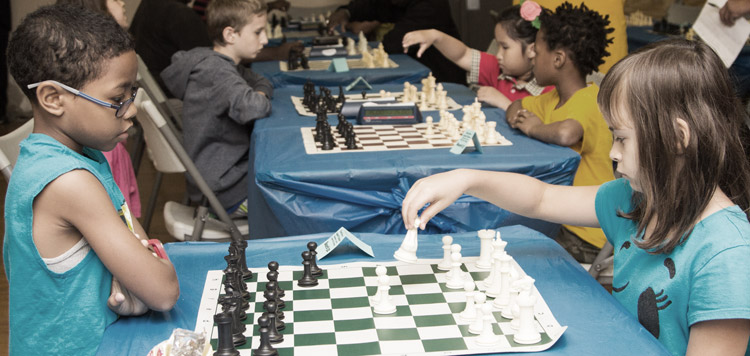 Chess Moves Against Violence in Ogden Park