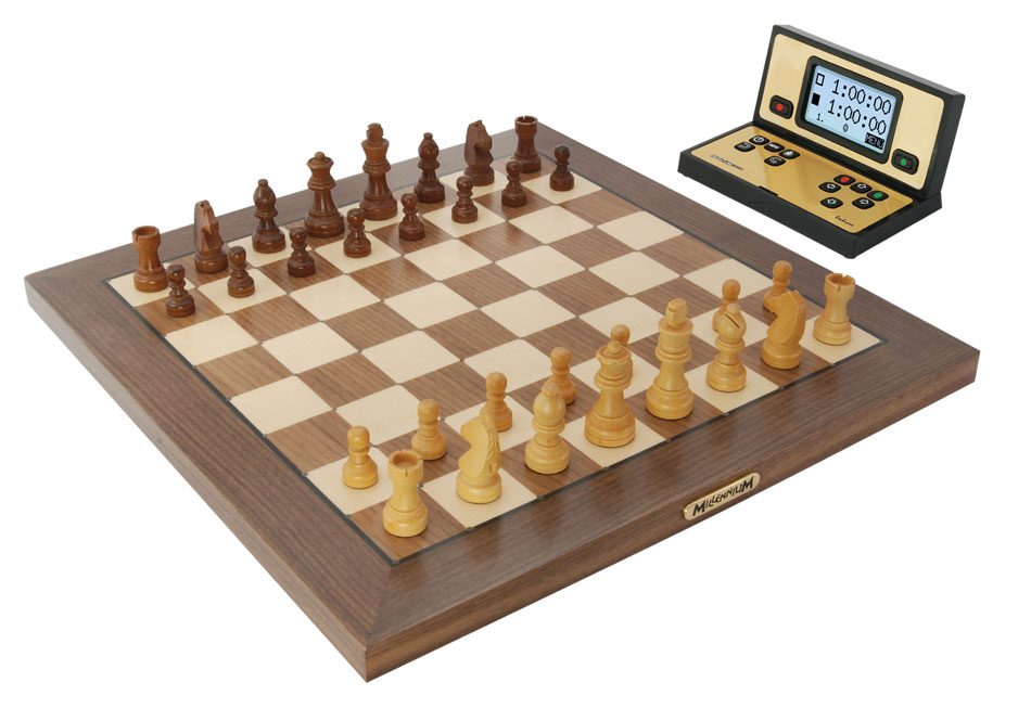 Chess Genius Exclusive Wood Chess Computer
