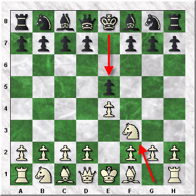 How to Read and Write Chess Notation - Nf3 Move
