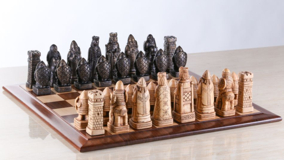 Carolyn Cavanaugh Chess Set
