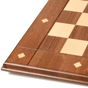 JLP Pennsylvania, 21in Solid hardwood chess board