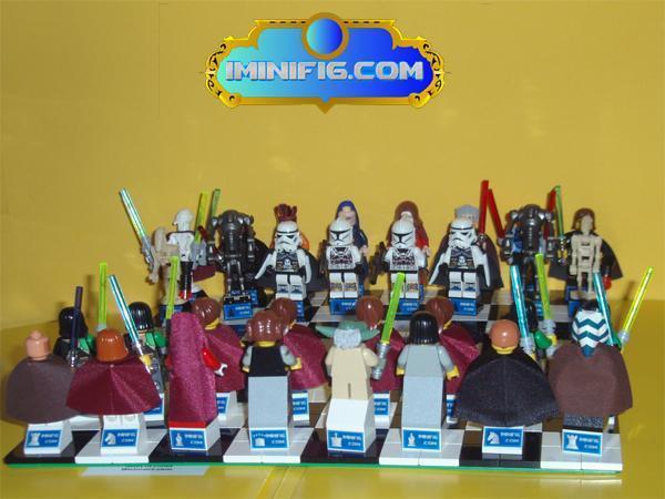 Star Wars Lego Chess Character set on Ebay