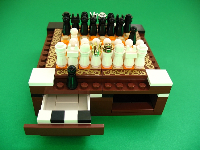 Elegant Mini Lego Chess Set