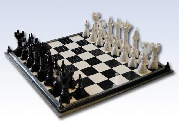 Space LEGO Chess Set