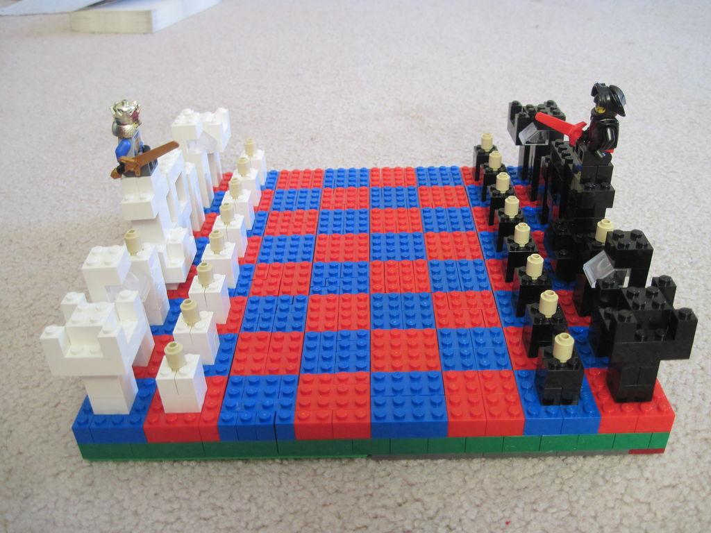 Basic LEGO Chess Set
