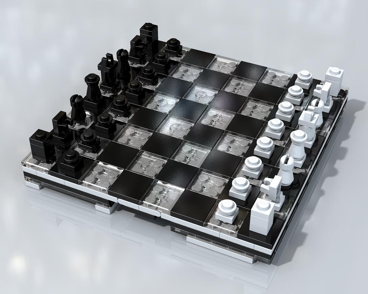 Mini Lego Chess Set #2