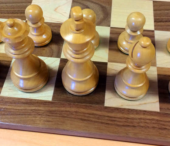 Timeless pieces on USA chess board