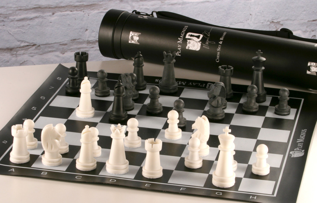 Play Magnus Chess Set with Tube