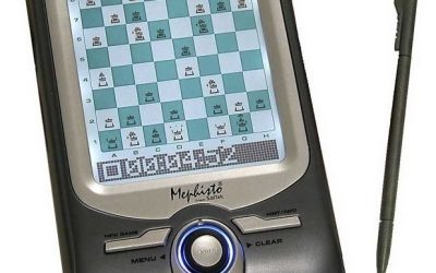 Saitek Mephisto electronic chess computers and manuals