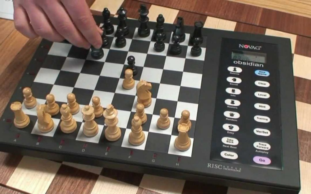 Novag electronic chess replaced by newer computers